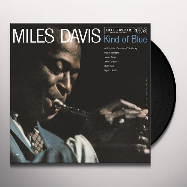 Miles Davis KIND OF BLUE (MONO VINYL) Vinyl Record - Mono