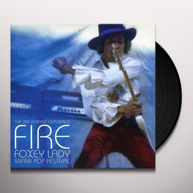 Jimi Hendrix FIRE / FOXEY LADY Vinyl Record