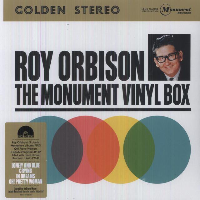 Roy Orbison MONUMENT BOX SET Vinyl Record