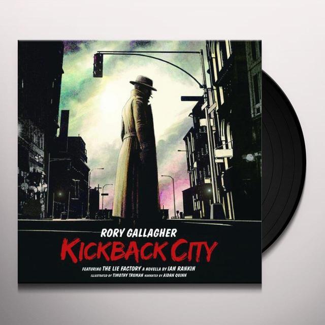 Rory Gallagher KICKBACK CITY Vinyl Record - w/CD, 180 Gram Pressing, Deluxe Edition