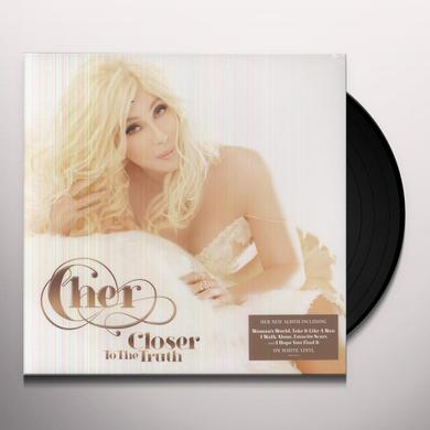 Cher CLOSER TO THE TRUTH Vinyl Record