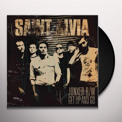 Saint Alvia GET UP & GO Vinyl Record