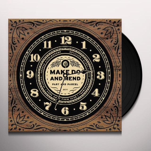 Make Do And Mend PART & PARCEL Vinyl Record