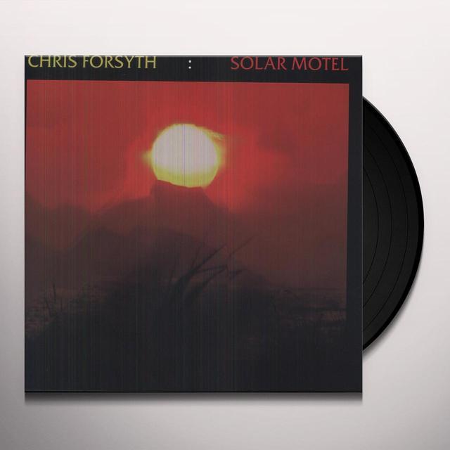 Chris Forsyth SOLAR MOTEL Vinyl Record - Digital Download Included