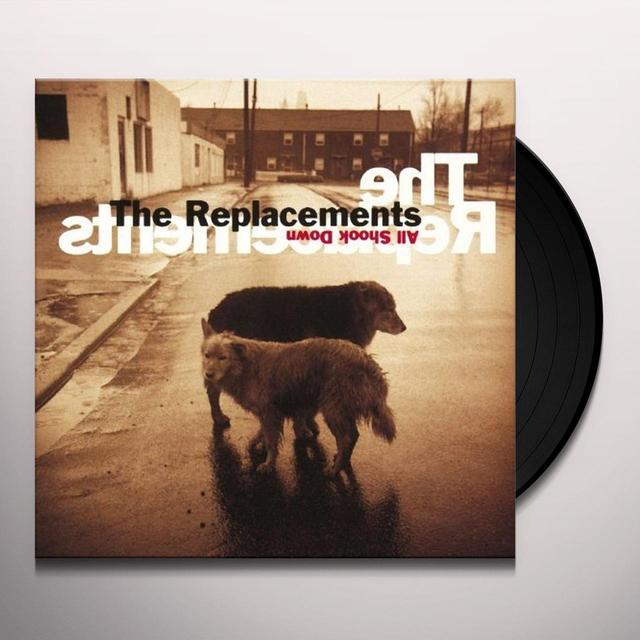 The Replacements ALL SHOCK DOWN Vinyl Record