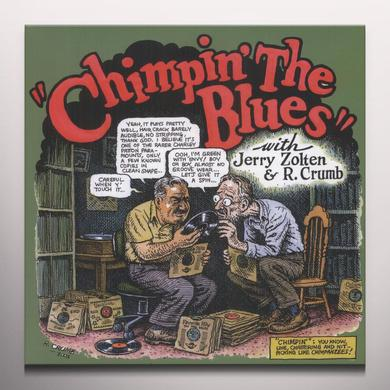 Robert Crumb / Jerry Zolten CHIMPIN THE BLUES Vinyl Record