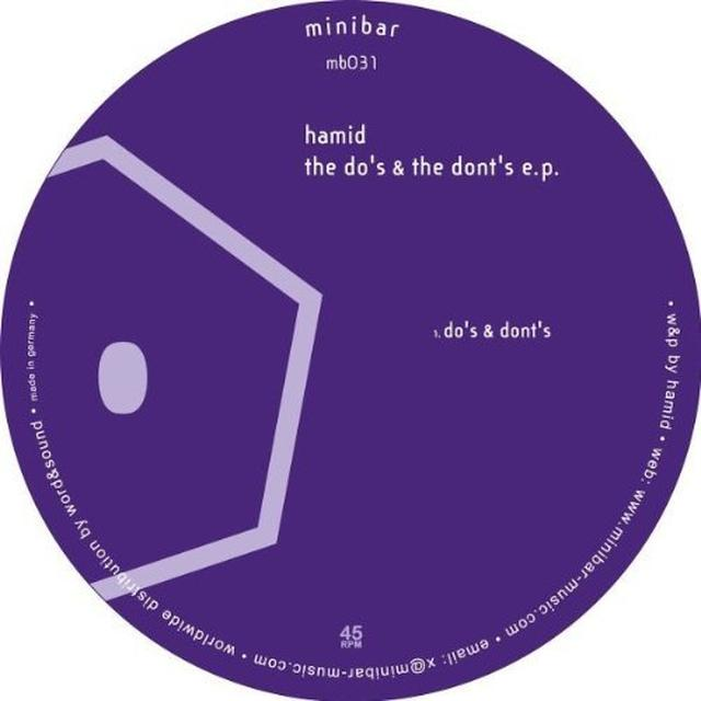 Hamid DO'S & THE DONT'S Vinyl Record