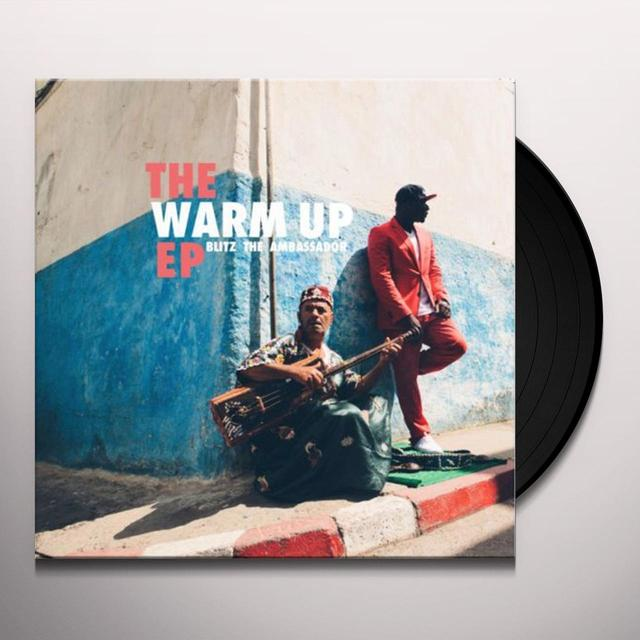 Blitz The Ambassador WARM UP Vinyl Record