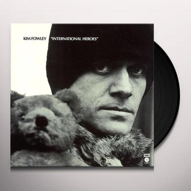 Kim Fowley INTERNATIONAL HEROES Vinyl Record