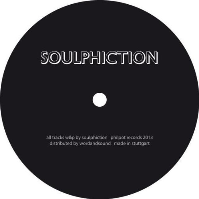 Soulphiction LIVE JAMZ 1 Vinyl Record
