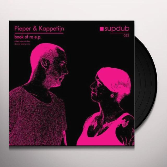 Pieper & Kappetijn BOOK OF RA (EP) Vinyl Record