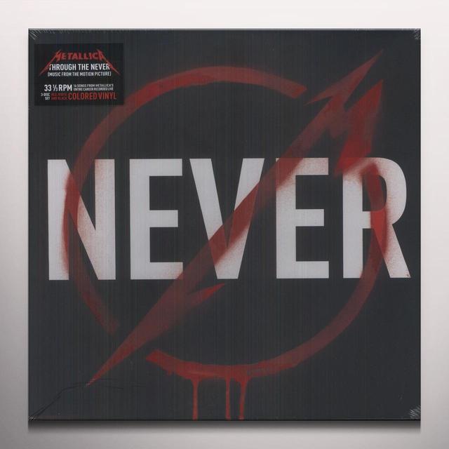 METALLICA THROUGH THE NEVER Vinyl Record