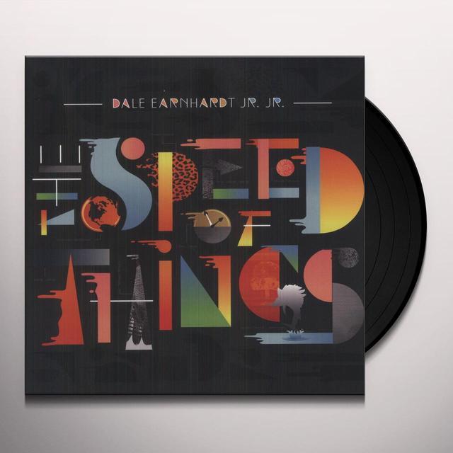 Dale Earnhardt Jr Jr SPEED OF THINGS Vinyl Record - Digital Download Included