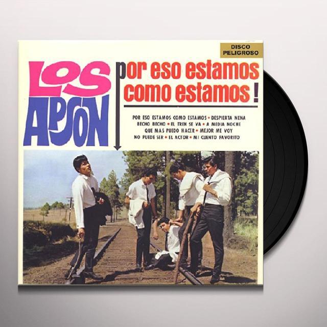 Los Apson POR ESO ESTAMOS COMO ESTAMOS Vinyl Record