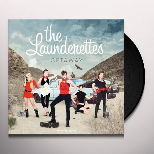 The Launderettes GETAWAY Vinyl Record - Digital Download Included
