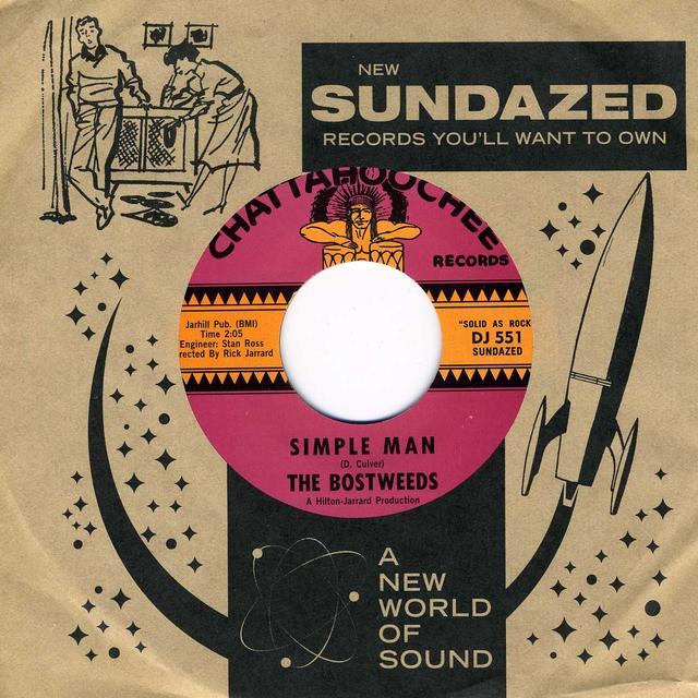 Bostweeds LITTLE BAD NEWS / SIMPLE MAN Vinyl Record