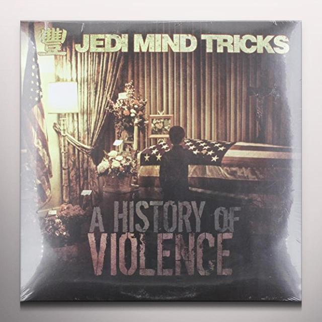 Jedi Mind Tricks HISTORY OF VIOLENCE (COLV) (Vinyl)