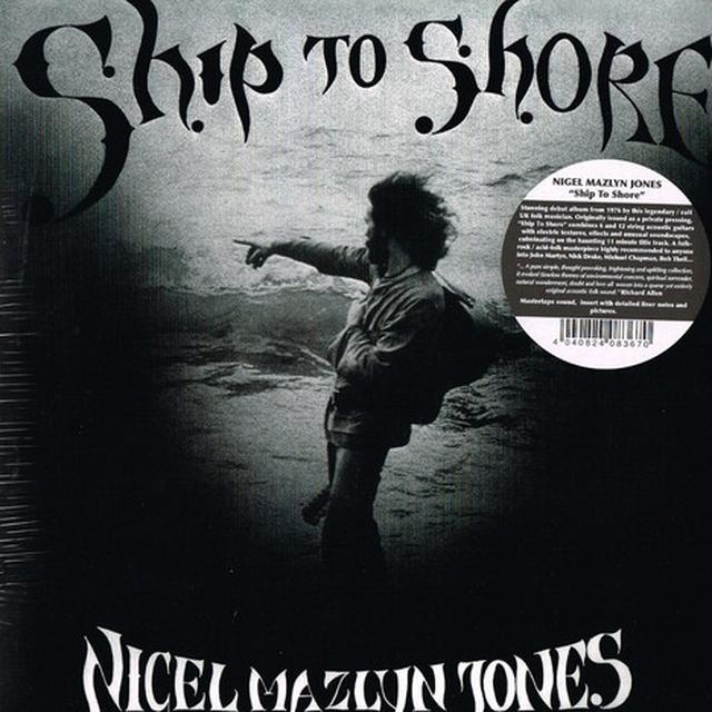 Nigel Mazlyn Jones SHIP TO SHORE Vinyl Record