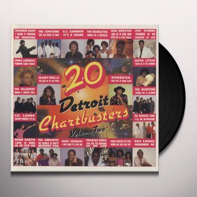 20 DETROIT CHARTBUSTERS 2 / VARIOUS Vinyl Record