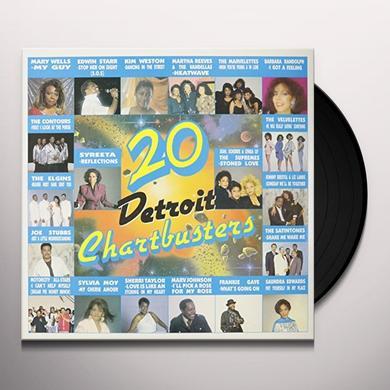 20 DETROIT CHARTBUSTERS / VARIOUS Vinyl Record