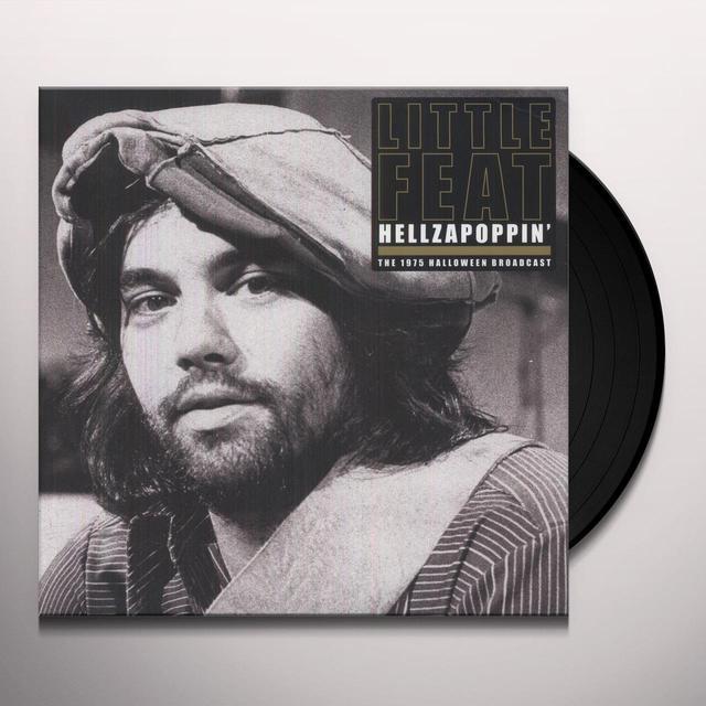 Little Feat HELLZAPOPPIN (Vinyl)