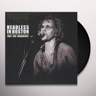 Warren Zevon HEADLESS IN BOSTON Vinyl Record