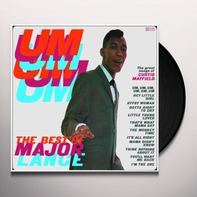 Major Lance UM UM UM UM UM UM Vinyl Record - 180 Gram Pressing