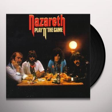 Nazareth PLAY'N THE GAME Vinyl Record