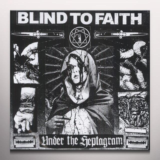 Blind To Faith UNDER THE HEPTAGRAM Vinyl Record - Colored Vinyl