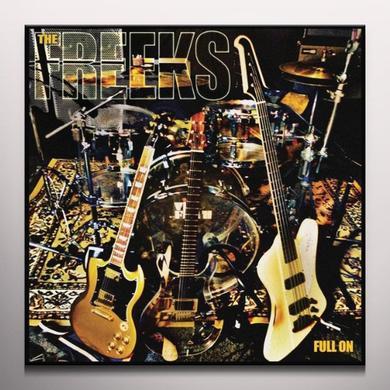 Freeks FULL ON Vinyl Record - Clear Vinyl