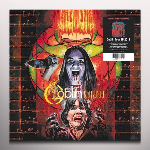 GOBLIN TOUR 2013  (EP) Vinyl Record - Colored Vinyl, 180 Gram Pressing