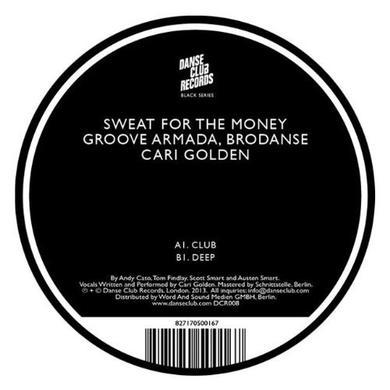 Groove Armada / Brodanse / Cari Golden SWEAT Vinyl Record