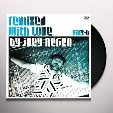 Joey Negro REMIXED WITH LOVE Vinyl Record