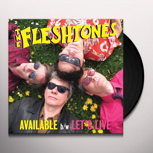 The Fleshtones AVAILABLE Vinyl Record - Digital Download Included