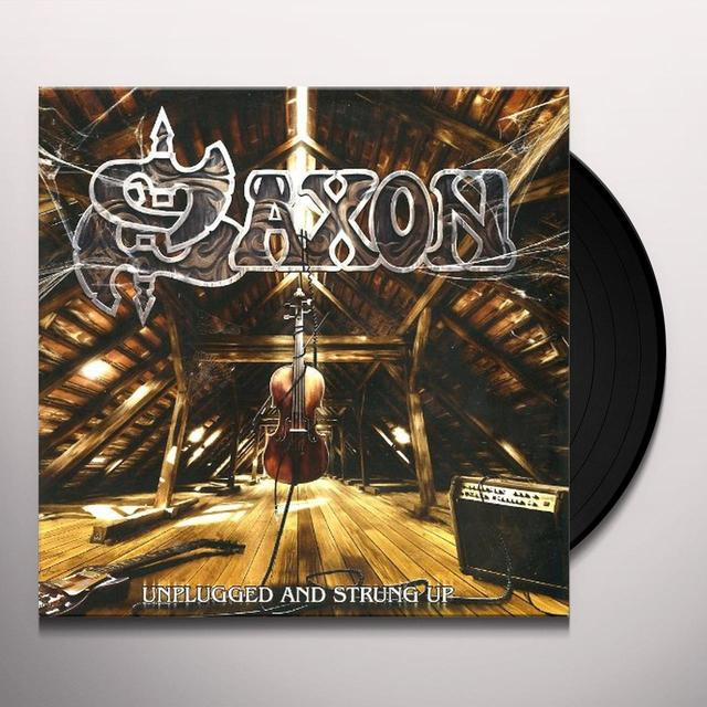 Saxon UNPLUGGED & STRUNG UP Vinyl Record - 180 Gram Pressing