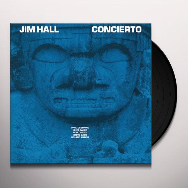 Jim Hall CONCIERTO Vinyl Record - 180 Gram Pressing