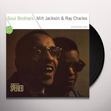 Milt Jackson & Ray Charles SOUL BROTHERS Vinyl Record - 180 Gram Pressing