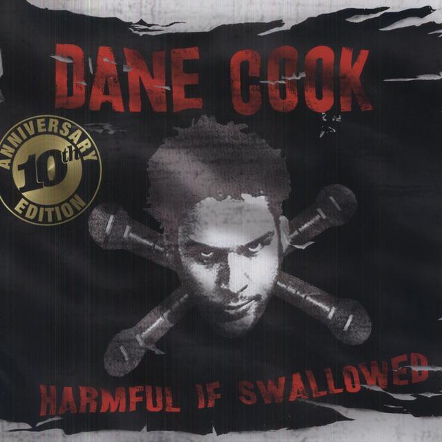 Dane Cook HARMFUL IF SWALLOWED Vinyl Record