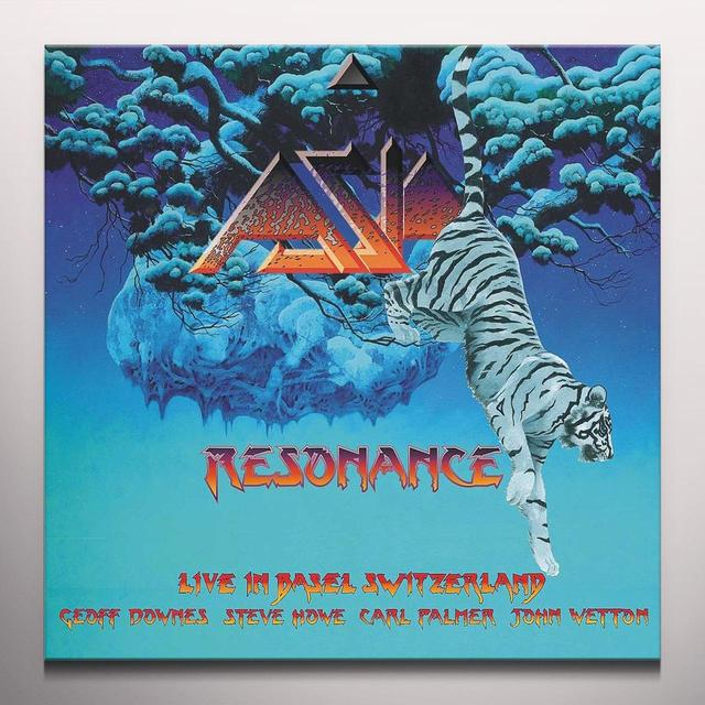 Asia RESONANCE: LIVE IN BASIL SWITZERLAND 2 Vinyl Record - Colored Vinyl