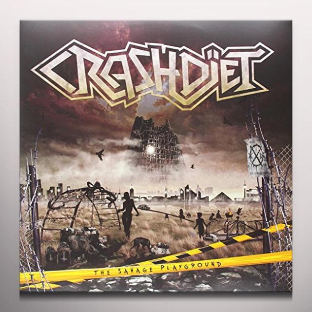 Crashdiet SAVAGE PLAYGROUND Vinyl Record - Colored Vinyl, Limited Edition, 180 Gram Pressing