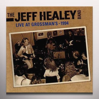 Jeff Healey LIVE IN GROSSMAN'S Vinyl Record - Clear Vinyl, Limited Edition, 180 Gram Pressing