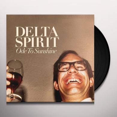 Delta Spirit ODE TO SUNSHINE Vinyl Record - 180 Gram Pressing