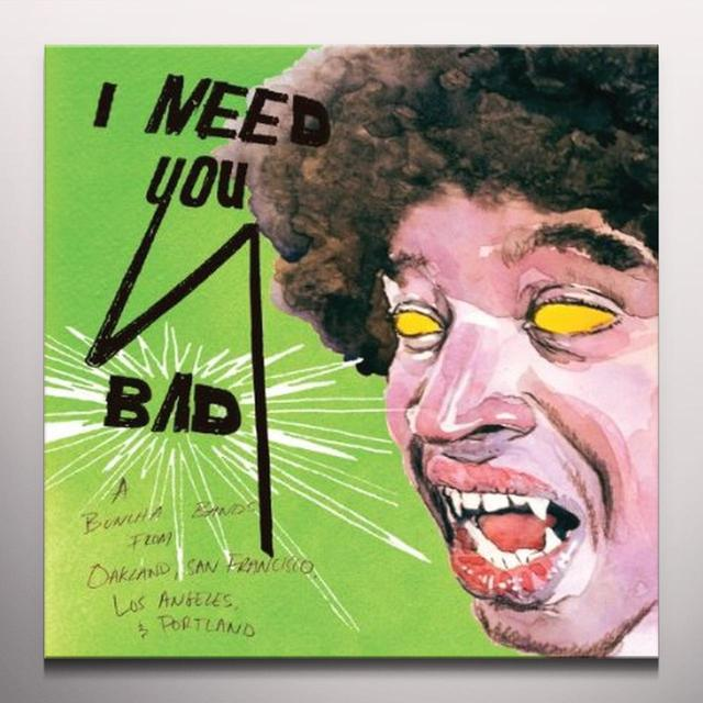I Need You Bad / Various (Dlcd) (Colv) I NEED YOU BAD / VARIOUS Vinyl Record - Digital Download Included, Colored Vinyl