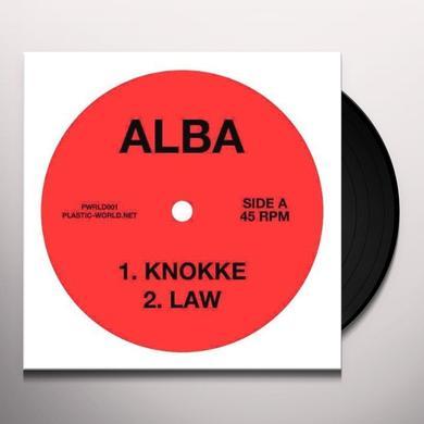 Alba KNOKKE/LAW Vinyl Record