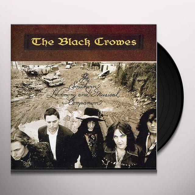 The Black Crowes SOUTHERN HARMONY & MUSICAL COMPANION Vinyl Record