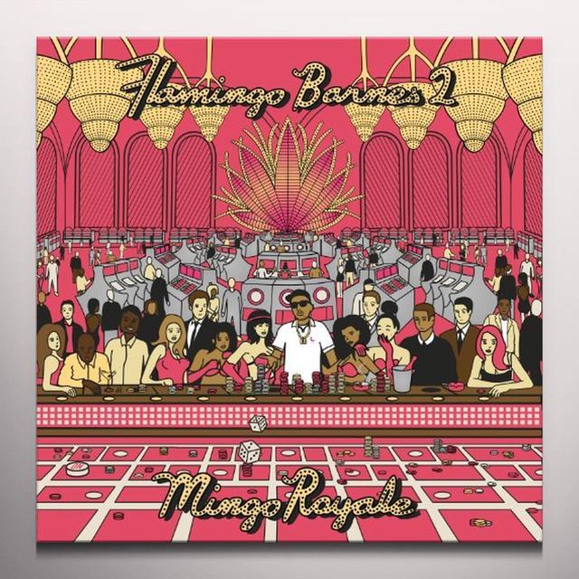 Trademark Da Skydiver FLAMINGO BARNES 2: MINGO ROYALE Vinyl Record