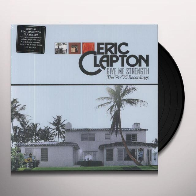 Eric Clapton GIVE ME STRENGTH 74 - 75 Vinyl Record