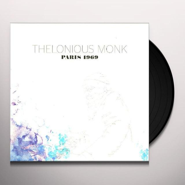 Thelonious Monk PARIS 1969 Vinyl Record
