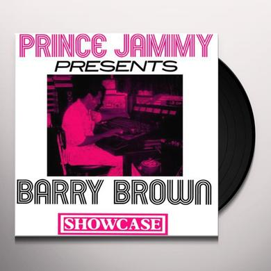 Barry Brow PRINCE JAMMY SHOWCASE Vinyl Record