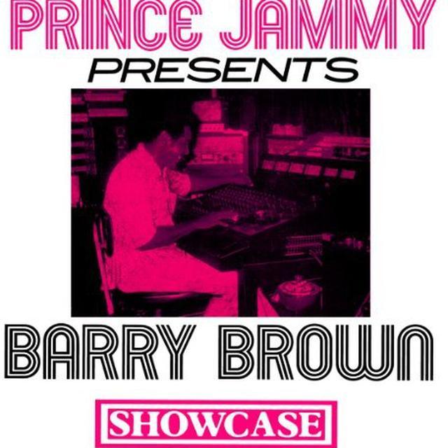 Barry Brow PRINCE JAMMY SHOWCASE Vinyl Record